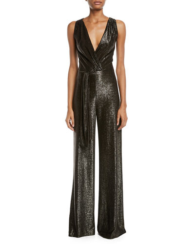 5e40dce7bf5 Quick Look. Ramy Brook · Marybeth Sleeveless Wide-Leg Jumpsuit