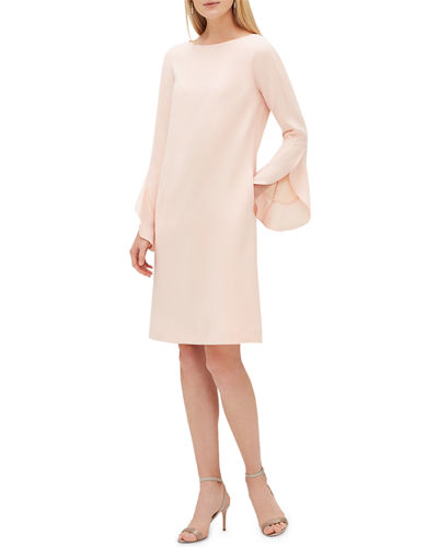 Emory Finesse Crepe Shift Dress