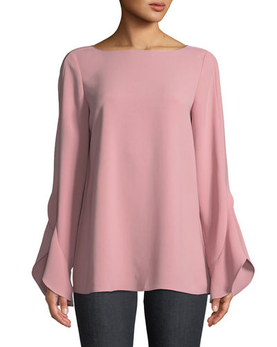 Emory Finesse Crepe Blouse