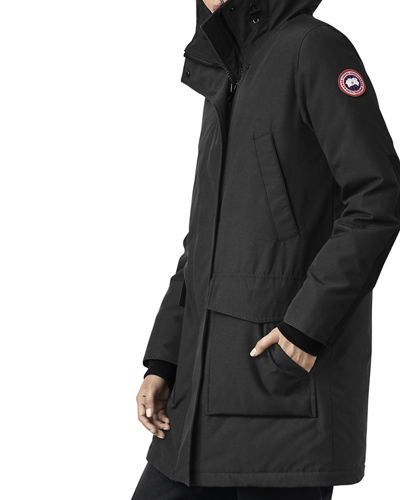 Canmore Streamline Hooded Parka Coat