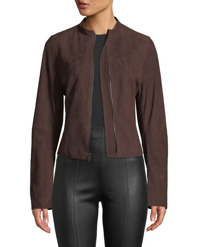 c681c0e76 Womens Suede Outerwear | Neiman Marcus