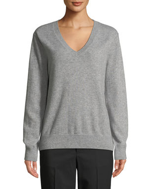 434c1448e65b Vince Weekend V-Neck Cashmere Pullover Sweater