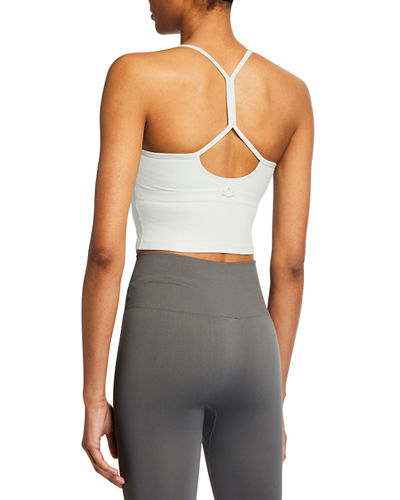 Beyond Yoga Space-dye Slim Racerback Cropped Tank