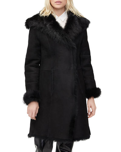 Vanesa Oversized Lamb Shearling Coat