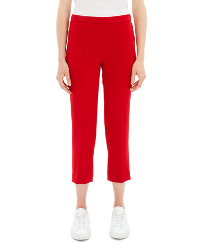 3b6e277d67d Theory Cropped Ankle Pants | Neiman Marcus