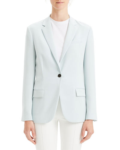 Staple Classic Crepe Single-Button Blazer