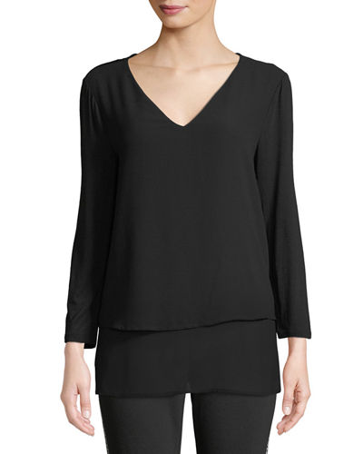 Multilayer Woven Top