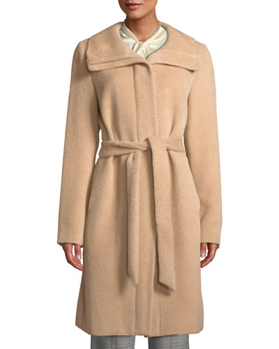 Suri Alpaca Wrap Coat