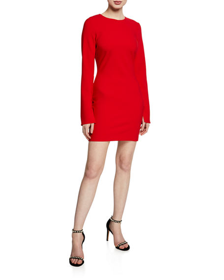 Likely MANHATTAN LONG-SLEEVE MINI DRESS