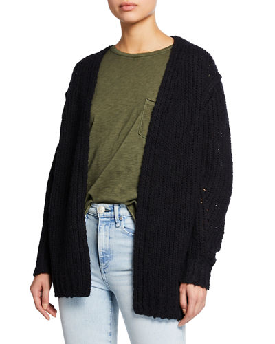 Arizona Chunky Open-Front Cardigan