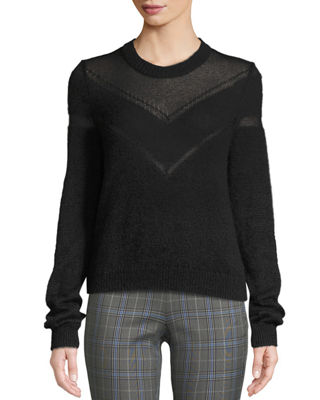 Blaze Crewneck Pullover Sweater by Rag & Bone