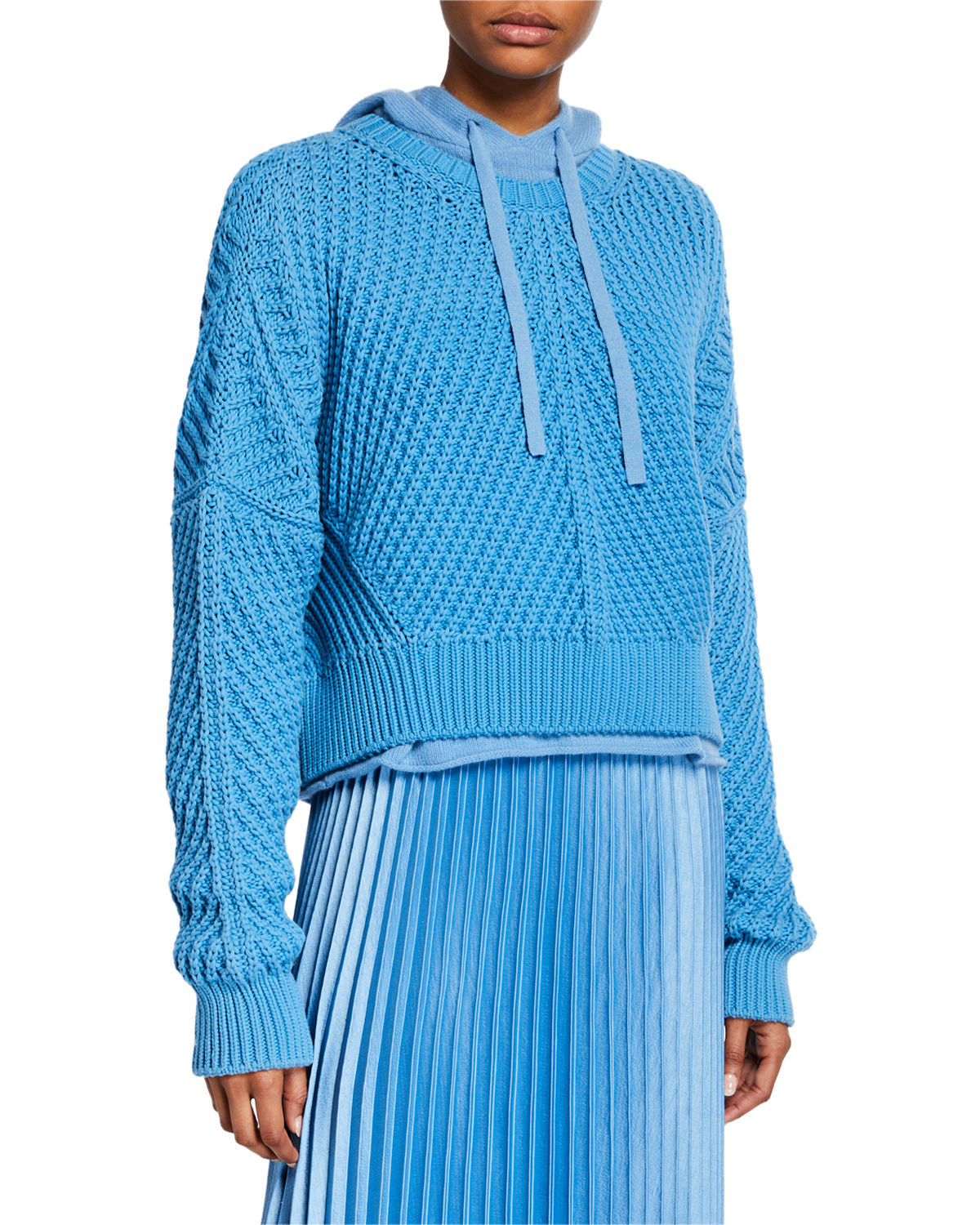 8014b00e58 Vince Directional Rib Pullover Boxy-Fit Sweater