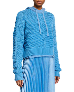 Vince Directional Rib Pullover Boxy-Fit Sweater ef2d8ca0a