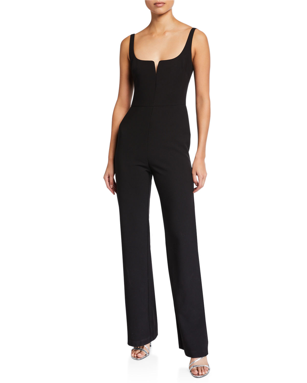 Likely Suits CONSTANCE SLEEVELESS STRAIGHT-LEG JUMPSUIT