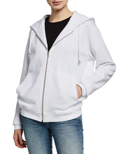 Atelier Notify Zip-Front Cotton Hooded Jacket