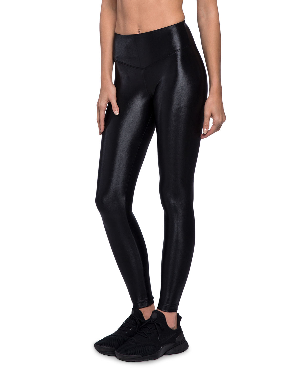 Lustrous High-Rise Athletic Leggings
