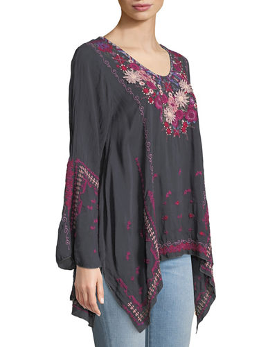 Wish Stitch Embroidered Tunic