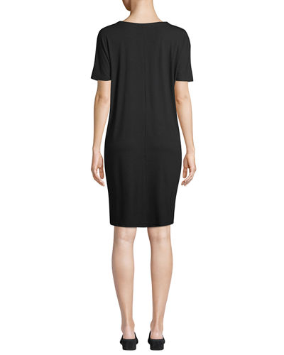 Viscose Jersey Shift Dress