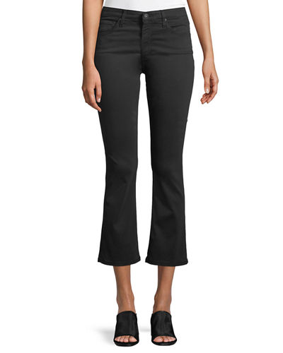 Jodi Slim Flared Crop Jeans