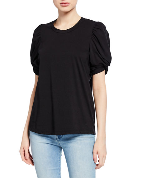 A.l.c Cottons KATI PUFF-SLEEVE TEE