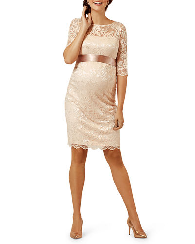 17a40c0168ce0 Quick Look. Tiffany Rose · Maternity Amelia Scalloped Lace Dress ...