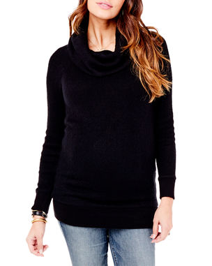 6876d77f567d Ingrid & Isabel Maternity Cowl-Neck Sweater Tunic