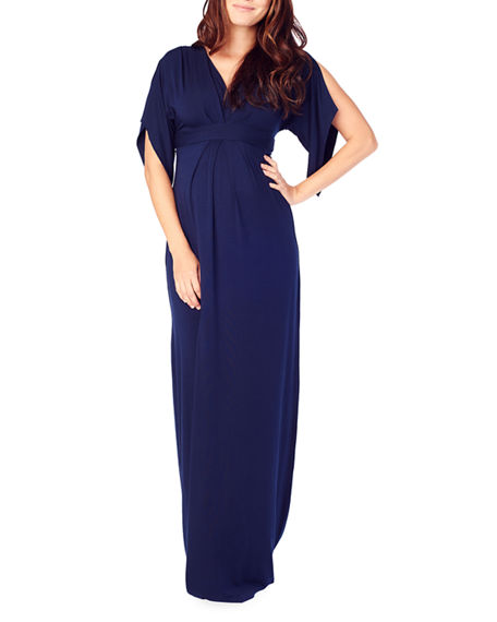 Ingrid & Isabel MATERNITY KIMONO MAXI DRESS