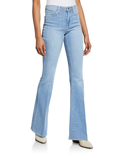 Bell High-Rise Flare Jeans