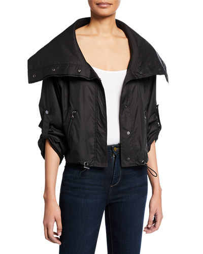 Anatomie Casey Metallic Cropped Jacket