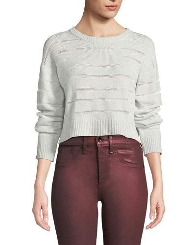 db29a9bcb201 Womens Cropped Sweater