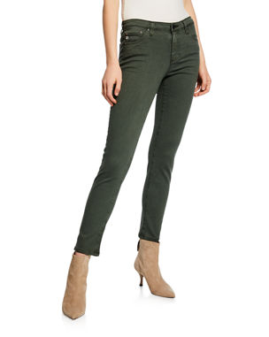 daf2e356b5d AG Adriano Goldschmied Prima Mid-Rise Ankle Cigarette Jeans