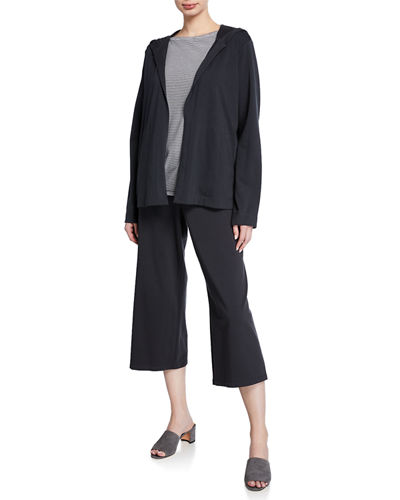 Eileen Fisher Jersey Cropped Pants
