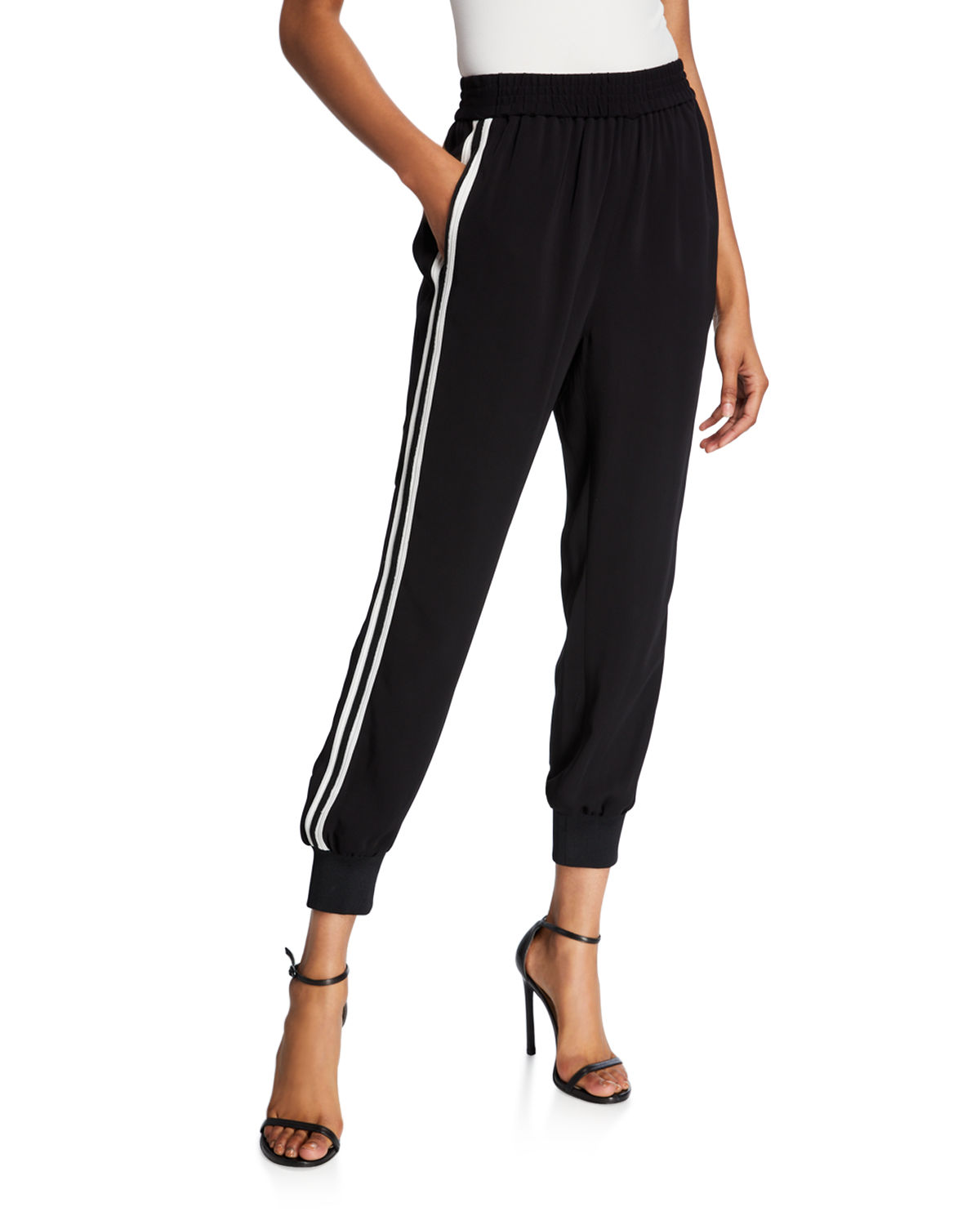 Kobi Halperin Pants ROBIN SIDE-STRIPE JOGGER PANTS