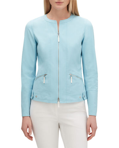 Cairo Zip-Front Fundamental Bi-Stretch Jacket