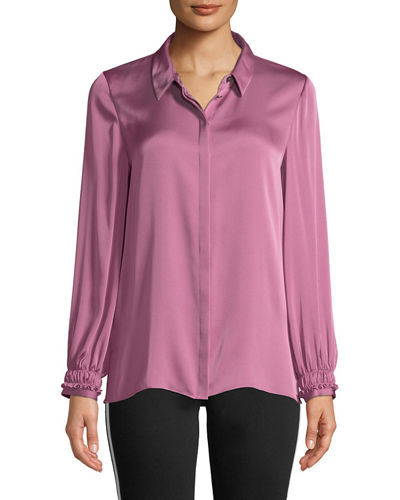 b90f2f8944d8ce Quick Look. Kobi Halperin · Ella Long-Sleeve Silk Blouse