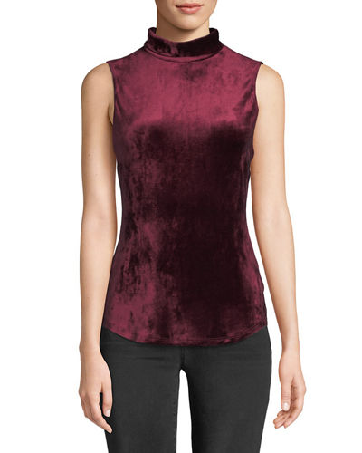 7bba09e09 Quick Look. Theory · Mock-Neck Sleeveless ...