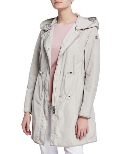 Moncler Anthemis Lightweight Raincoat