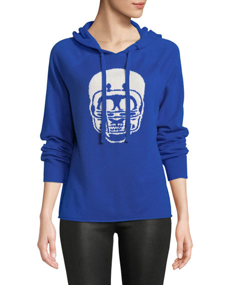 360 Sweater COLLEGIATE SKULL CASHMERE HOODIE SWEATER