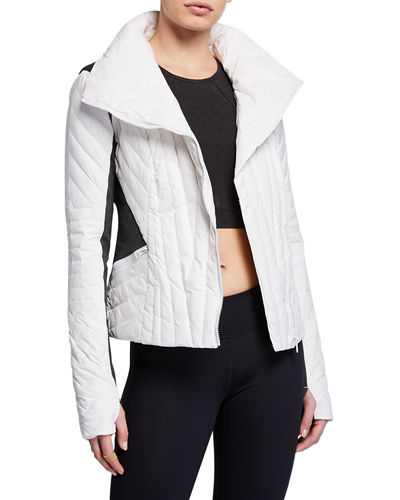 Motion Paneled Puffer Jacket