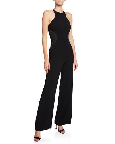 7d0253f2adf Black Sleeveless Jumpsuit