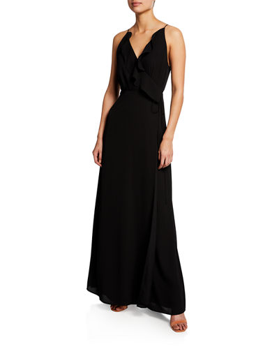 The Jamie Lace-Up Maxi Dress
