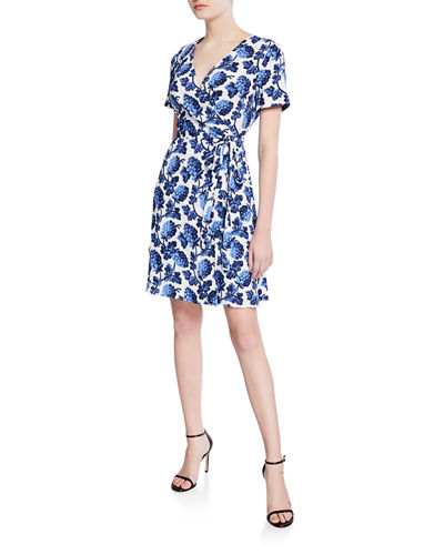 78c859785d2e Diane Von Furstenberg Blue Dress