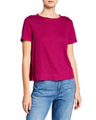 Eileen Fisher Linen Tee and Matching Items &