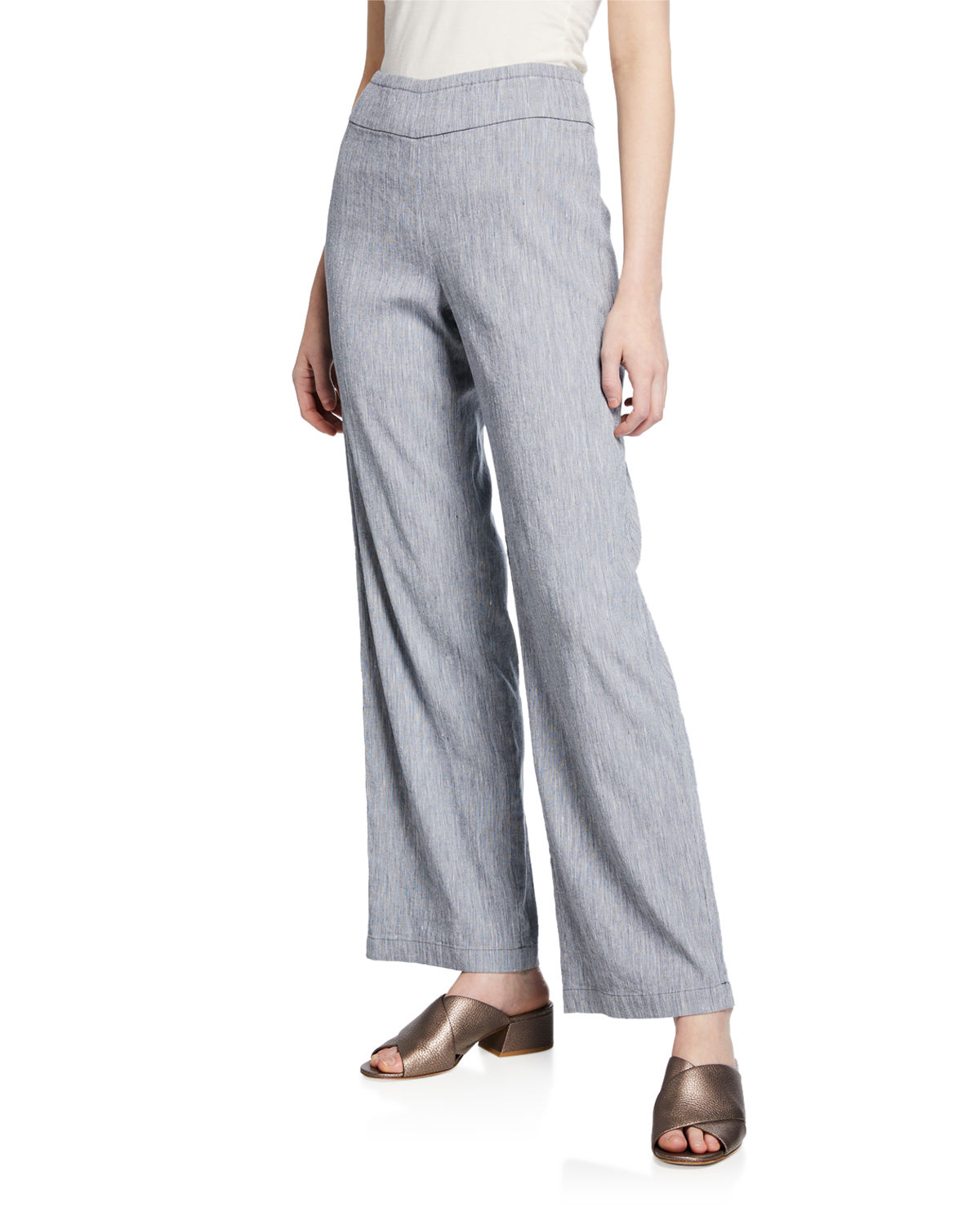 Nic+zoe Pants HERE OR THERE MID-RISE PULL-ON PANTS