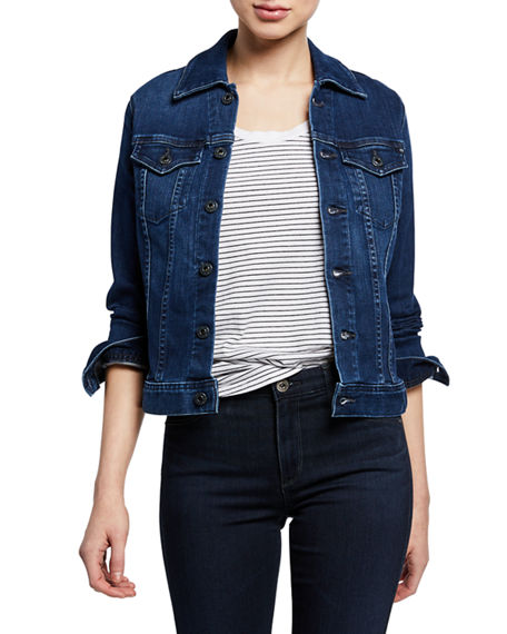 AG Adriano Goldschmied Robyn Button-Front Denim Jacket