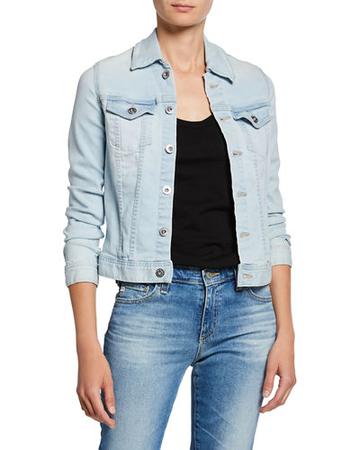 Robyn Button-Front Denim Jacket