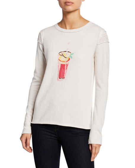 Lisa Todd Plus Size Summer Sips Cotton Sweater