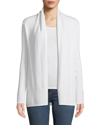 f469d7f617 Quick Look. Neiman Marcus Cashmere Collection · Cashmere Modern Open-Front  Cardigan
