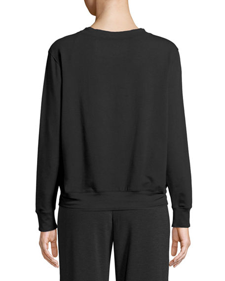Image 2 of 2: Majestic Paris for Neiman Marcus French Terry Relaxed Sweatshirt