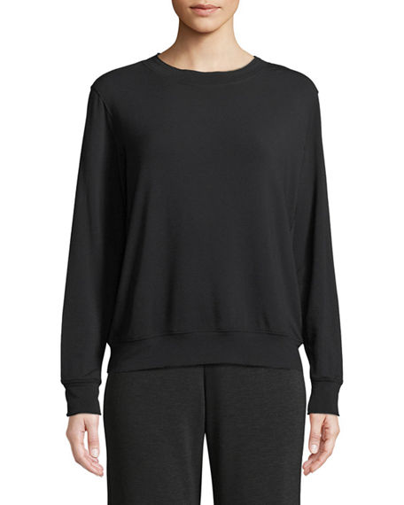 Majestic Paris for Neiman Marcus French Terry Relaxed Sweatshirt